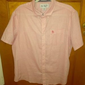 XL Penguin Heritage Slim Fit Collared Button Down